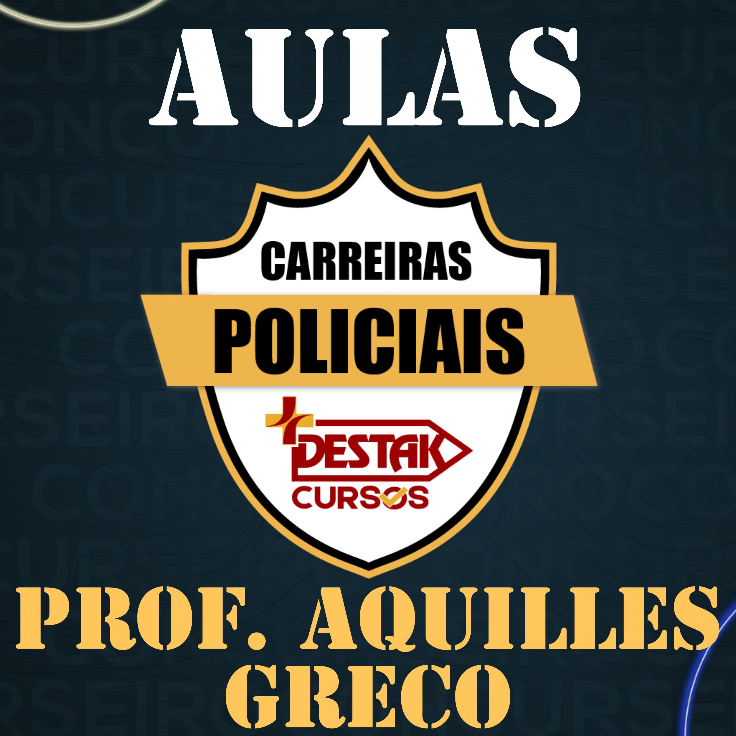Aulões - Prof. Aquilles Greco